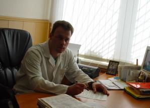 зав.отд. к.м.н. Севрюков Федор Анатольевич, главный уролог ГЖД